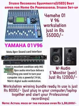Studio Recording Equipments (USED) Best offer!!!