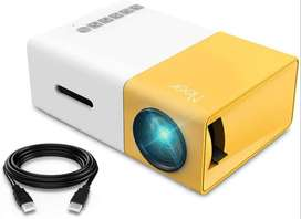 Mini Projector, Meer Portable Pico Full Color LED LCD Video Projector