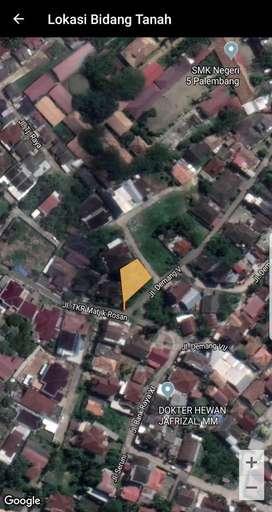 Dijual Cepat Tanah Kosong Siap Bangun 500m dari Jl. Demang Lebar Daun