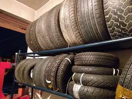 All tyre available all is the car and bikes scooters th best condition