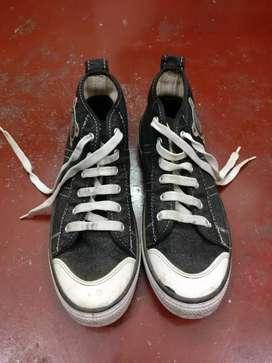 Sreeleathers Casual Black Sneakers