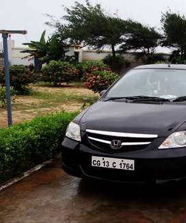 Honda City Zx - 2006 Model, Black Colour