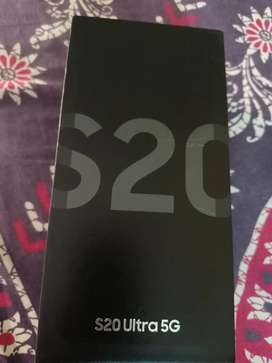 Brand new Samsung s20 ultra