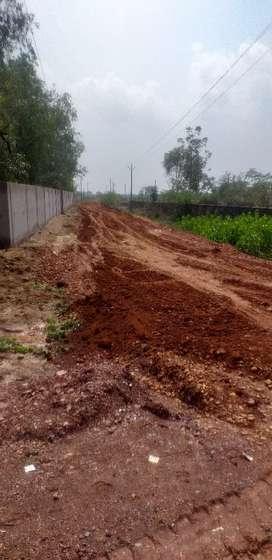 Near kanan pendari se laga hua diverted plot