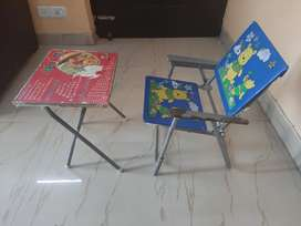 Study Table and Chair for kids, child