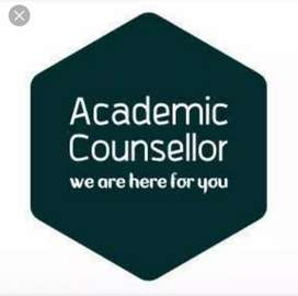 Required Academic counsellor(Female only)