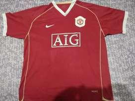 Jersey Bola MU 2006-2007 ori