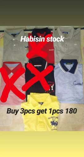 Polo tshirt buy 3 get 1