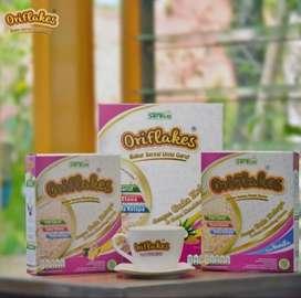 Oriflakes GASTRO Sereal Umbi Garut Asam Lambung 350 gram JAHE-VANILLA
