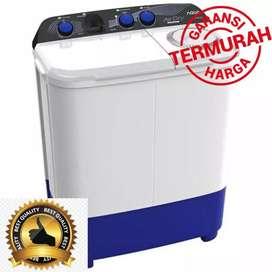 super sale AQUA MESIN CUCI 2 TABUNG TOP LOADING QW-851XT  Murah