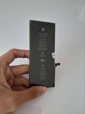 Baterai iPhone 6 plus langsung pasang