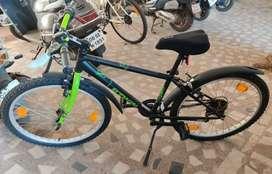 Decathlon Rockrider Bicycle(Black)
