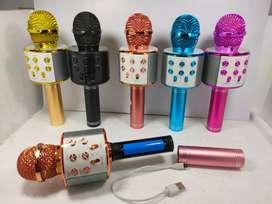 Mic WS 858/ Mic Karaoke Blotot Wireless portable WS858 portable