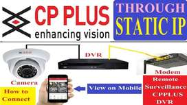Offer 4 CP Plus CCTV Camera Sales & Installation only 12999
