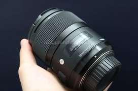 Murah Lensa Fix Sigma Art 35mm f/1.4 for Nikon