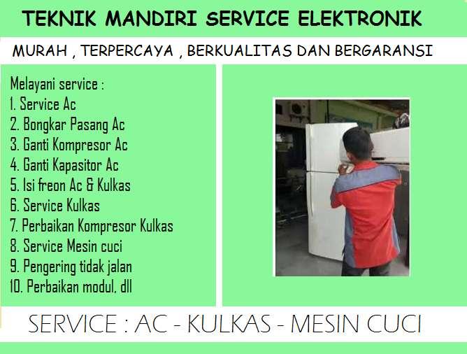 Rajanya service Kulkas freezer Showcase Frezerboox & Ac Mesin cuci Lg 0