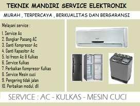 Service Kulkas Mesin cuci Ac  (bergaransi)