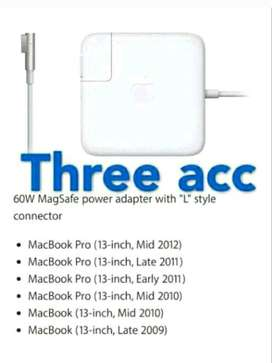 Adaptor Charger Apple MacBook  Magsafe for Mac Pro White Original