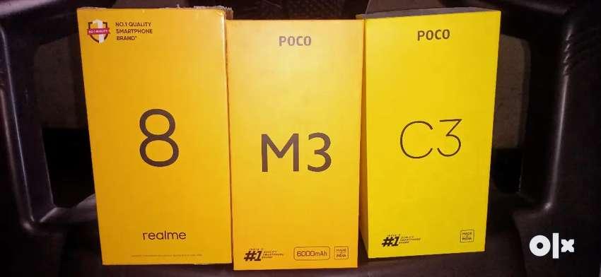 Poco C3/Poco M3/Realme 8 seal pack