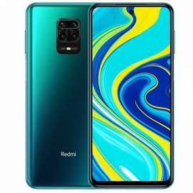 REDMI NOTE 9 PRO 4GB&64GB COLOR BLUE & BLACK SEAL PACK PHONES