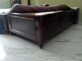 Deewan bed4/6 teak wood