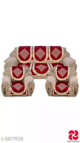 Elegant printed sofa set covers