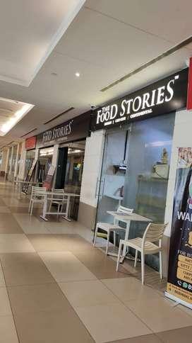 Pre rented furnished shop on resale.