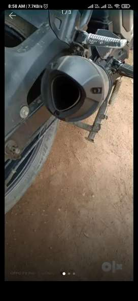Fzs V2.0 exhaust silencer for sale or exchange