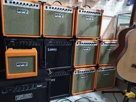 Amply sound gitar 15 Watt oranye orange