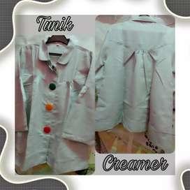 Pakaian wanita Tunik Creamer