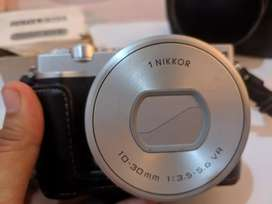 Nikon 1 j5 mirrorless vlog + cctv lens. 35 mm 2/3