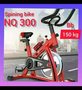 sepeda statis spining bike NQ 300 alat fitnes promo