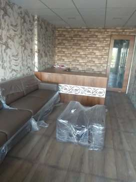Office,one room ,letbath ,sofa ,bed ,office