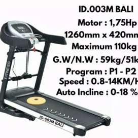treadmill elektrik ID 003M bali electric GA-387 alat fitnes