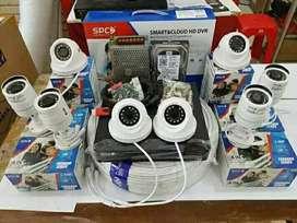 Kamera CCTV harga promo 2 megapixel paket komplit dan lengkap