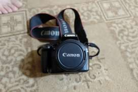 Canon EOS 1100D WITH KIT LENS 18-55MM in great condition