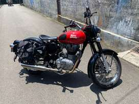 Royal Enfield Classic 350 Redditch Red RARE