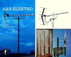 Teknisi ahli pasang antena tv uhf