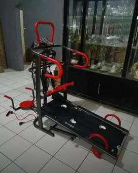 Manual Treadmil 007# Total Fitnes Baru