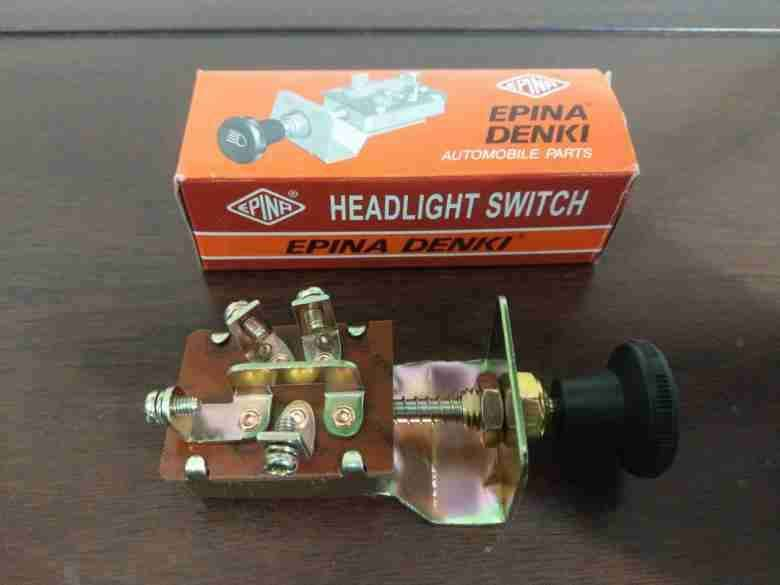 Imported Twin Point Pull Light Switch Button Car Jeep Dashboard 0
