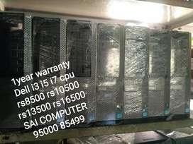 Dubai IMPORTED Dell i3 i5 i7 cpu  rs10500 rs13500 rs16500