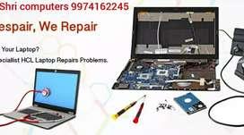 All types of laptop repairing