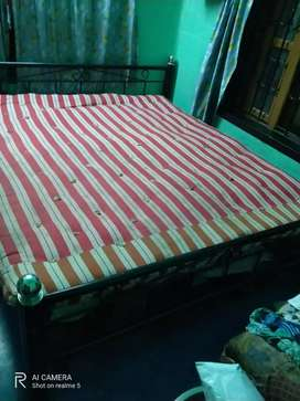 New Strong Iron Double bed