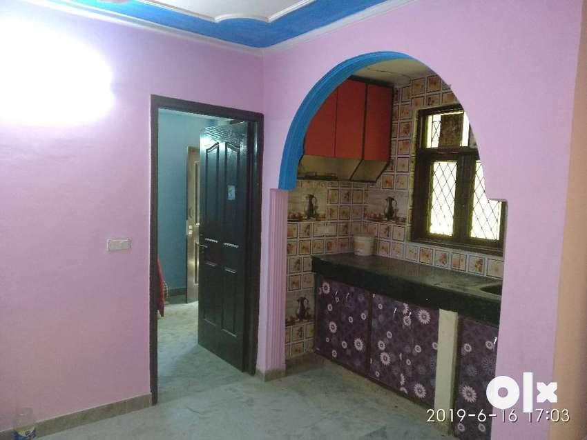 malviya nagar flat 1bhk 2 room set for sale 0