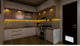 kitchen set/meja tv