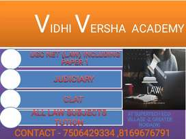 UGC NET (LAW), JUDICIARY & CLAT including ALL LAW SUBJECTS TUTION