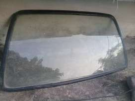 Mehran car back glass with origional rubber (gola)