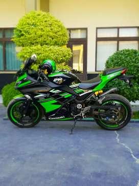 DIJUAL CEPET. Kawasaki Ninja 250 SE 2017