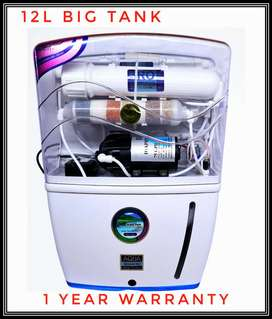NEW RO WATER PURIFIER WITH ADVANCED TECHNOLOGY WITH 1 YEAR WARRANTY BM