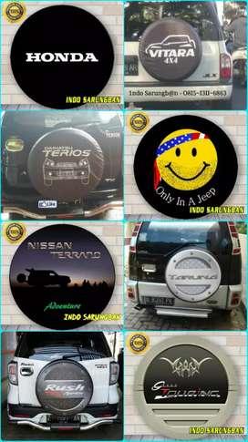 Sarung cover ban Rush Terios Escudo Sidekick Jeep Rubicon Feroza Jimny